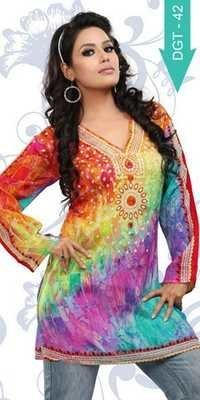 Exporters of digital printed kurti