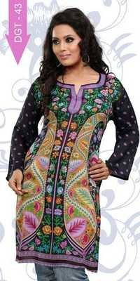 Exporter of digital printed kurtis