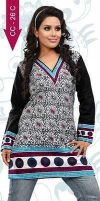 indian Printed cotton kurtis