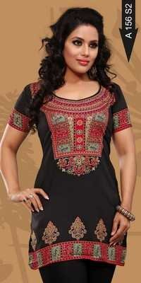 Crepe kurtis Suppliers
