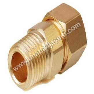 Brass Compression Male Connectors