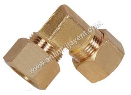 Brass Compression Union Elbow