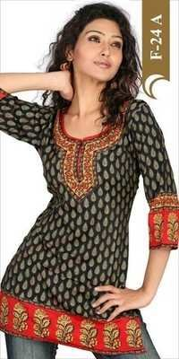 Crepe kurtis Supplier