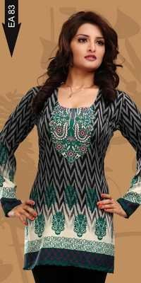 Crepe Kurtis exporter for Woman