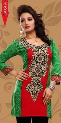 Crepe Kurti Manufacturers for Woman