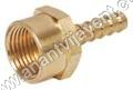 Brass Female Barb Nipple