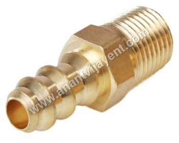 Brass Male Barb Nipple