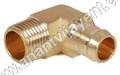 Brass Barb Male Elbow