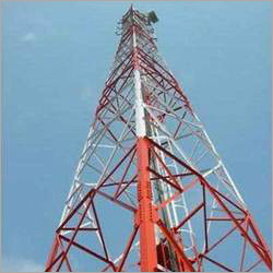 Galvanized Telecom Tower