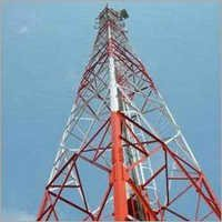 Galvanized Telecom Tower