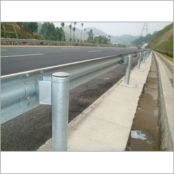 Hot Dipped Galvanized Highway Steel Guardrail