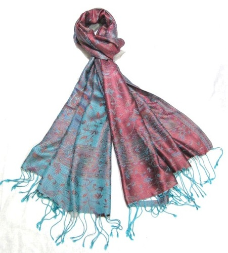 Cotton Printed Wool Shawls