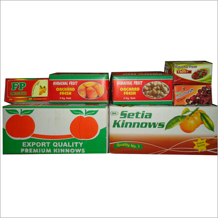 Fruit Corrugated Boxes