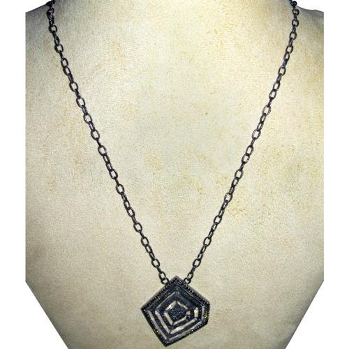 Crystal Diamond Pave Long Necklace Jewelry