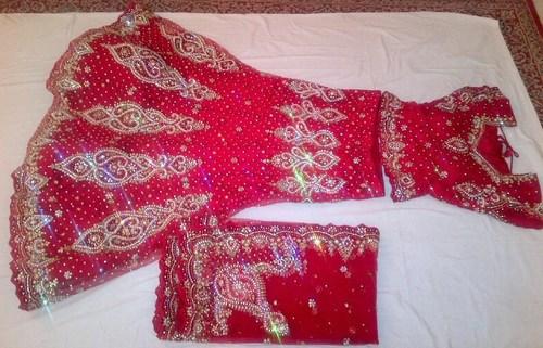 Exclusive Red Bridal Lehenga