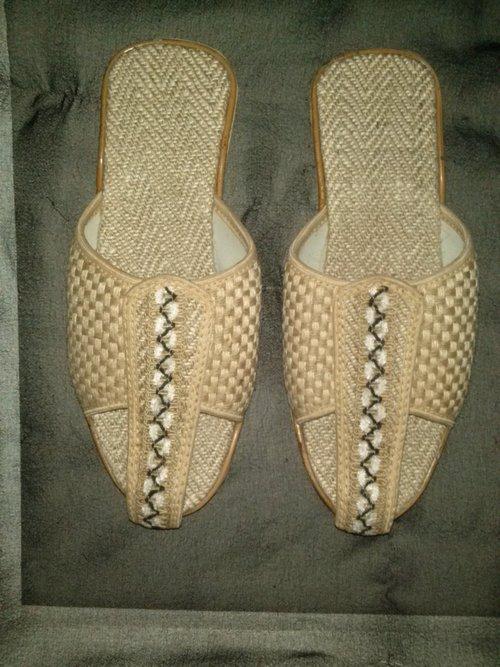 Crafted Jute Footwear (Slippers)