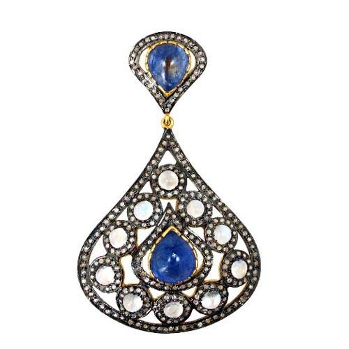 Diamond Pave Gemstone Jewelry