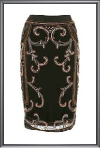 Ladies Embellished Skirt