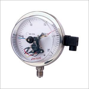 Electric Contacts Pressure Gauge
