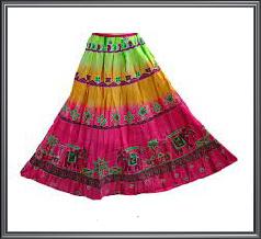 Ladies Tie & Dye Skirt