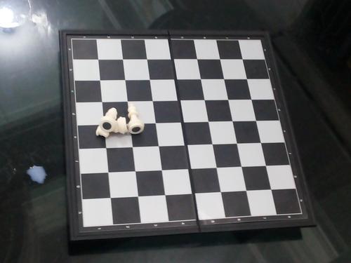 Magnetic Plastic Chess