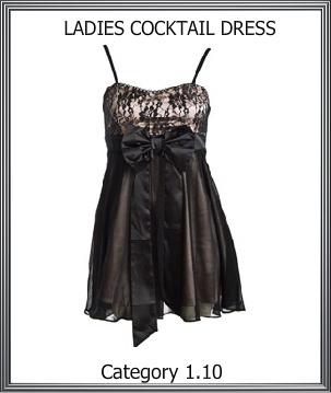 Ladies Cocktail Dress