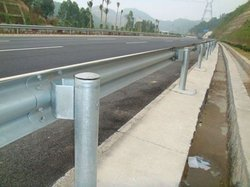 Highway Steel W Beam Galvanized