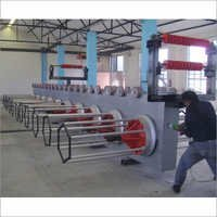 Galvanized Wire Plant Take Up Machine
