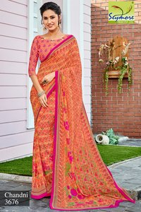 Fancy Designer printed sarees