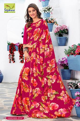 Fancy Light Weight Printed Saree