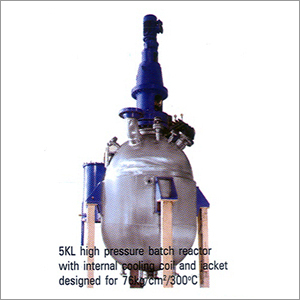 High Pressure Batch Reactor