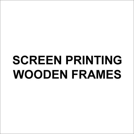 Screen Printing Wooden Frames
