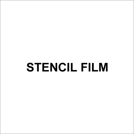 Screen Printing Stencil Films