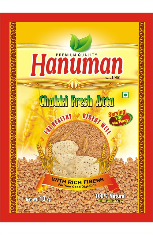 For Hanuman Atta Packing Bag