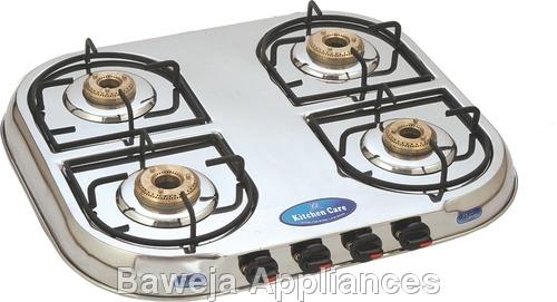 Four Burner Gas Stoves