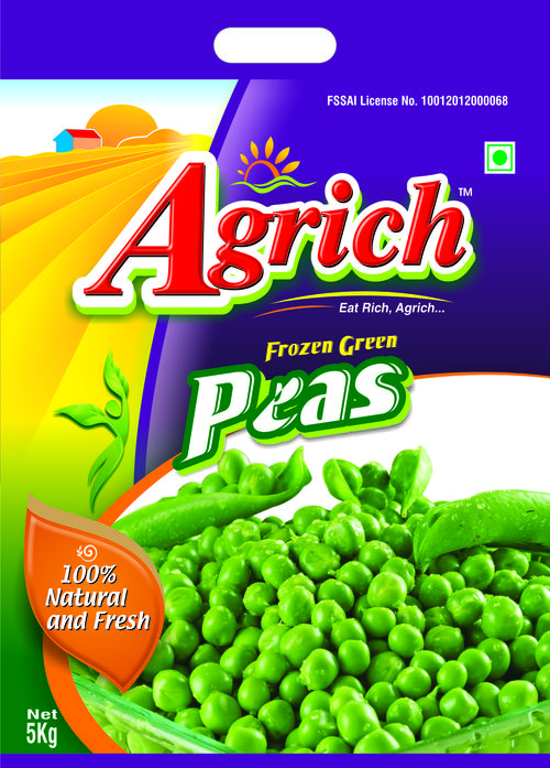 Green Peas Packing Pouch 5 kg