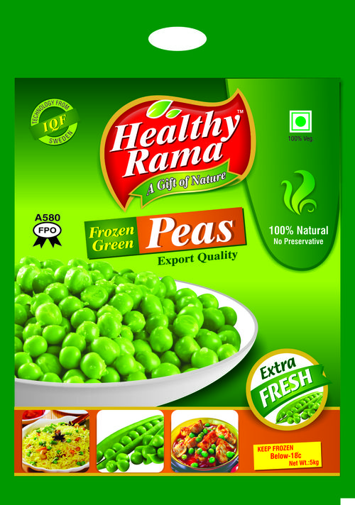 Peas Packaging Pouch 5 KG