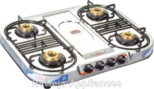 Four Burner Series Gas Stove