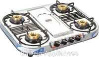 Four Burner Series Gas Stove