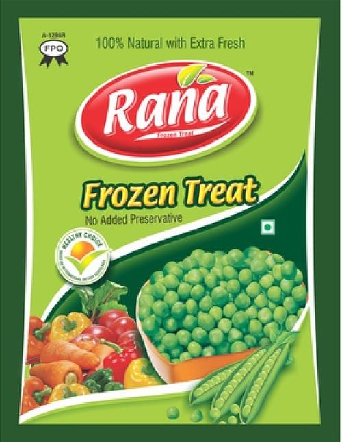 200gm Frozen Peas Packaging Bags
