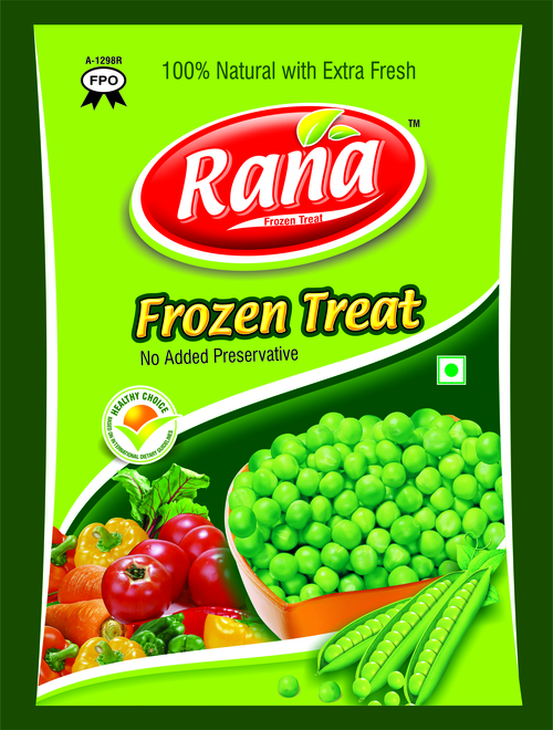 Frozen Peas Packing Pouch