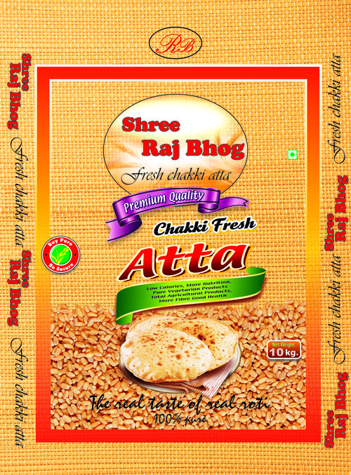 For Shree Raj Bhog Atta Packing Bag