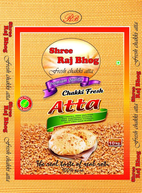 For Shree Raj Bhog Atta Packing Bag