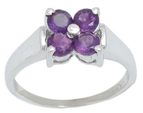 affordable and cheap gemstone silver ring for wholesale, amethyst ring