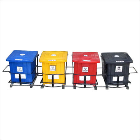 Foot Operated Bins Set