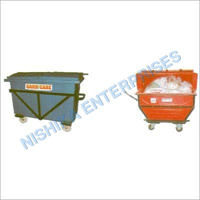 Mobile Garbage Trolley
