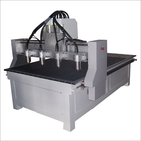 Multihead CNC Engraving Machine