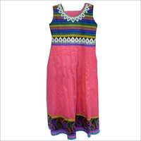 Sleeveless Readymade Salwar Suits