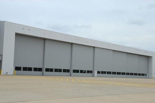 Bi Fold Hangar Doors