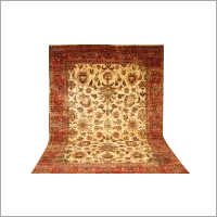 Antique Hand Knotted Floor Carpet